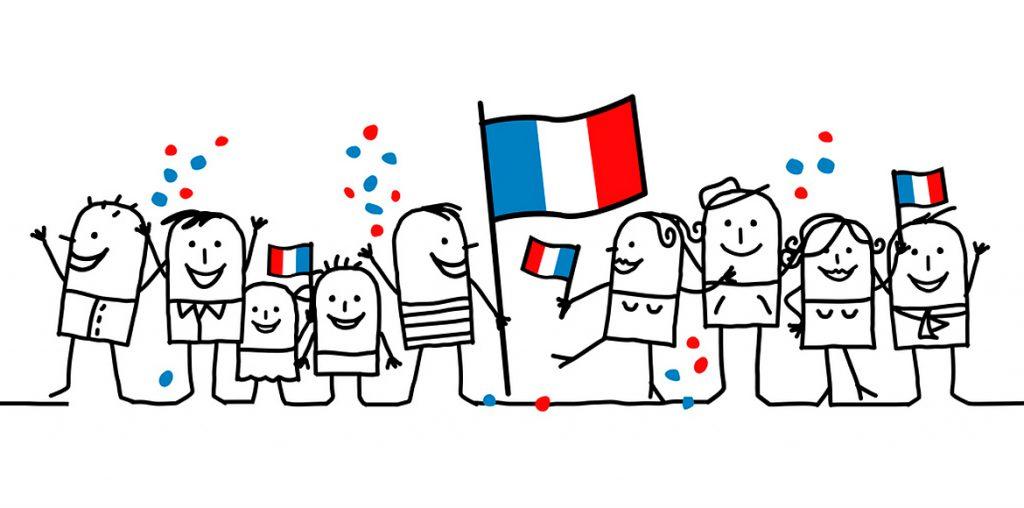 être fier d'être français