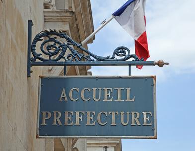 Accueil préfecture
